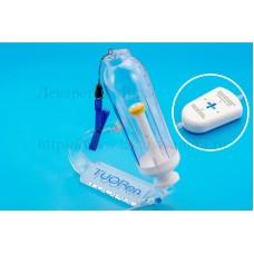 Помпа инфузионная Tuoren, одноразовая стерильная с принадлежностями, объем 200 мл, с регулятором скорости инфузии - (1-2-3-4) мл/час.